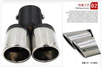 Car-Styling Car Exhaust Pipe Tail Pipes for BYD F3 F6 L3 G3 F3R
