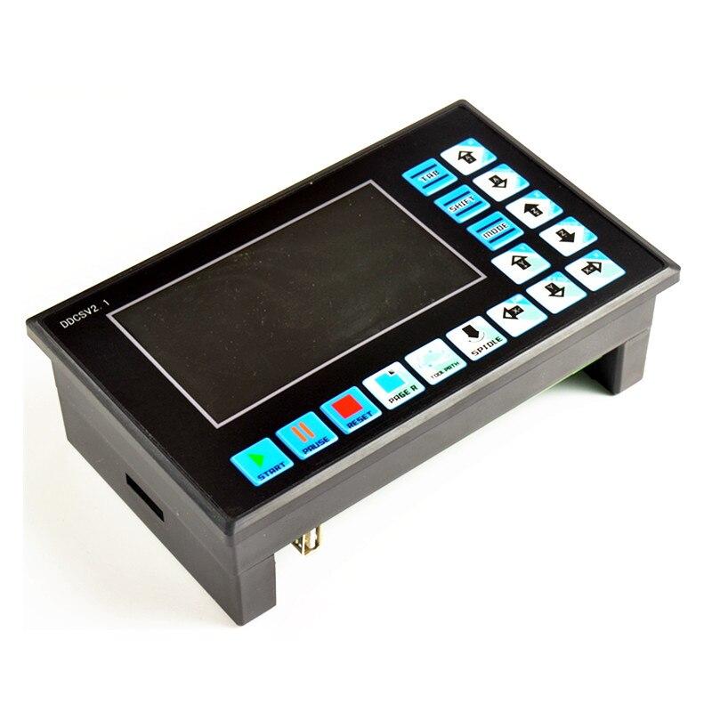 4 axe hors ligne NC système Autonome Remplacer Mach3 3 axe USB CNC Moteur Contrôleur DDCSV2.1