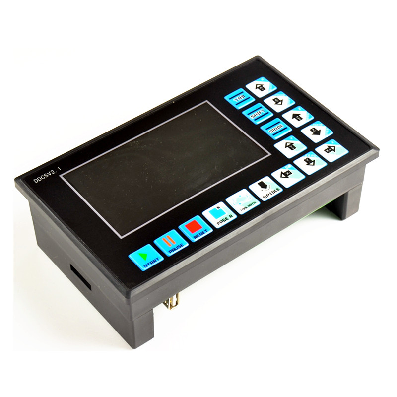 4 axis offline NC system Stand Alone Replace Mach3 3axis USB CNC Motor Controller DDCSV2.1