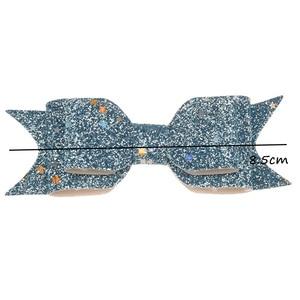 Image 3 - Nœud papillon en poudre à paillettes, accessoire de mode, nœud Allitagor, mignon, accessoire pour cheveux Chic, Boutique de cheveux, 50pcs