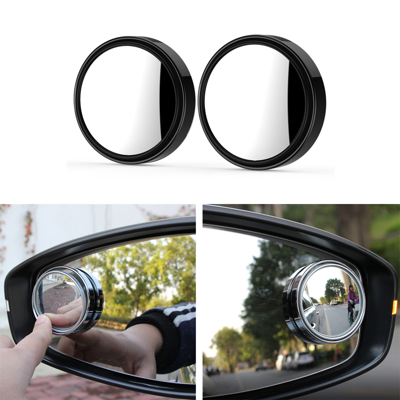 DOTAATDW 2x Car Vehicle Mirror Blind Spot Auto RearView Mirror For <font><b>Audi</b></font> A3 A4 A5 <font><b>A6</b></font> A7 A8 B6 B7 B8 <font><b>C5</b></font> C6 TT Q3 Q5 Q7 S3 S4 image