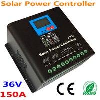 שמש מערכת 150A PV פנל סולארי בקר 36 V 48 V סוללה תשלום רגולטור CE RoHS 100% איכות שימוש מאושר למערכת שמש