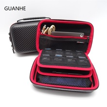 GUANHE USB flash disk power bank Travel Carrying Case Cover