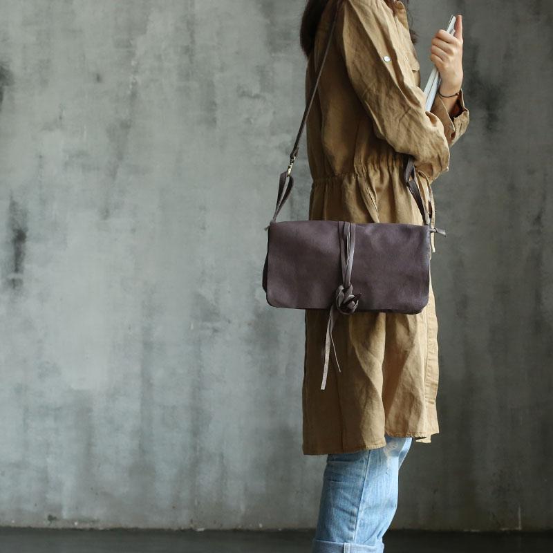 Vendange new fashion Socialite tassel vintage handmade soft genuine sheepskin leather / shoulder bag / messenger / handbag6019 все цены