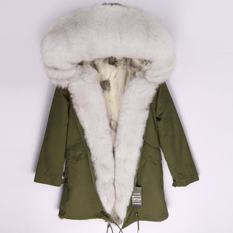 Femmes Capot Survêtement Renard Casual Doublure 1 Veste Lapin D'hiver Amovible Épais 3 color Color Chaud Parkas De Parka 4 12 color 11 color Fourrure color color color 10 2018 2 color 8 9 color color 5 Naturel Réel 7 color Nouvelle color 6 Marque qZtPn7