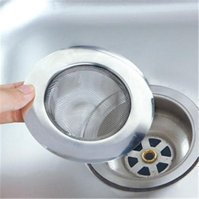 Merveilleux Home Stainless Steel Mesh Sink Strainer Drain Stopper Trap Kitchen Bathroom  A609
