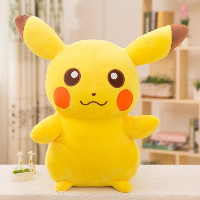 30 cm & 20 centímetros Pikachu Brinquedos De Pelúcia De Alta Qualidade Bonito do Anime Brinquedos de Pelúcia Brinquedo Presente das Crianças Dos Miúdos Dos Desenhos Animados pikachu Boneca De Pelúcia de Peluche
