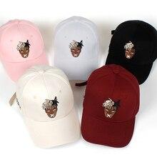 5 colors Cotton Singer xxxtentacion Dreadlocks Snapback Cap For Men Women Hip Ho