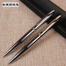 1pc Metal Ballpoint Pen Brass Oil  Ball Pen Gift To Friend High Quality