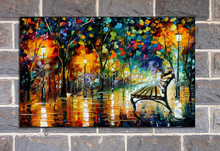 100%Handpainted Abstract Night Beauty Knife Oil Painting On Canvas Thick Oil Painting Wall Picture For Home Decor As Best Gift