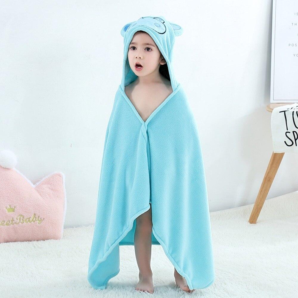 Baby Animal Cartoon Hooded Towel Beach Bath Robes Soft Children Poncho Towels Bathing Suit Towel For Boys Girls Kids Bathrobe 16