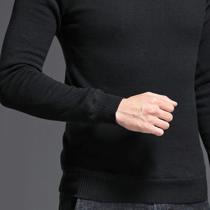 Image 5 - Brand New Casual Turtleneck Sweater Men Pullovers Thick Warm Autumn Fashion Style Sweater Male Solid Slim Fit Knitwear Pull Coat