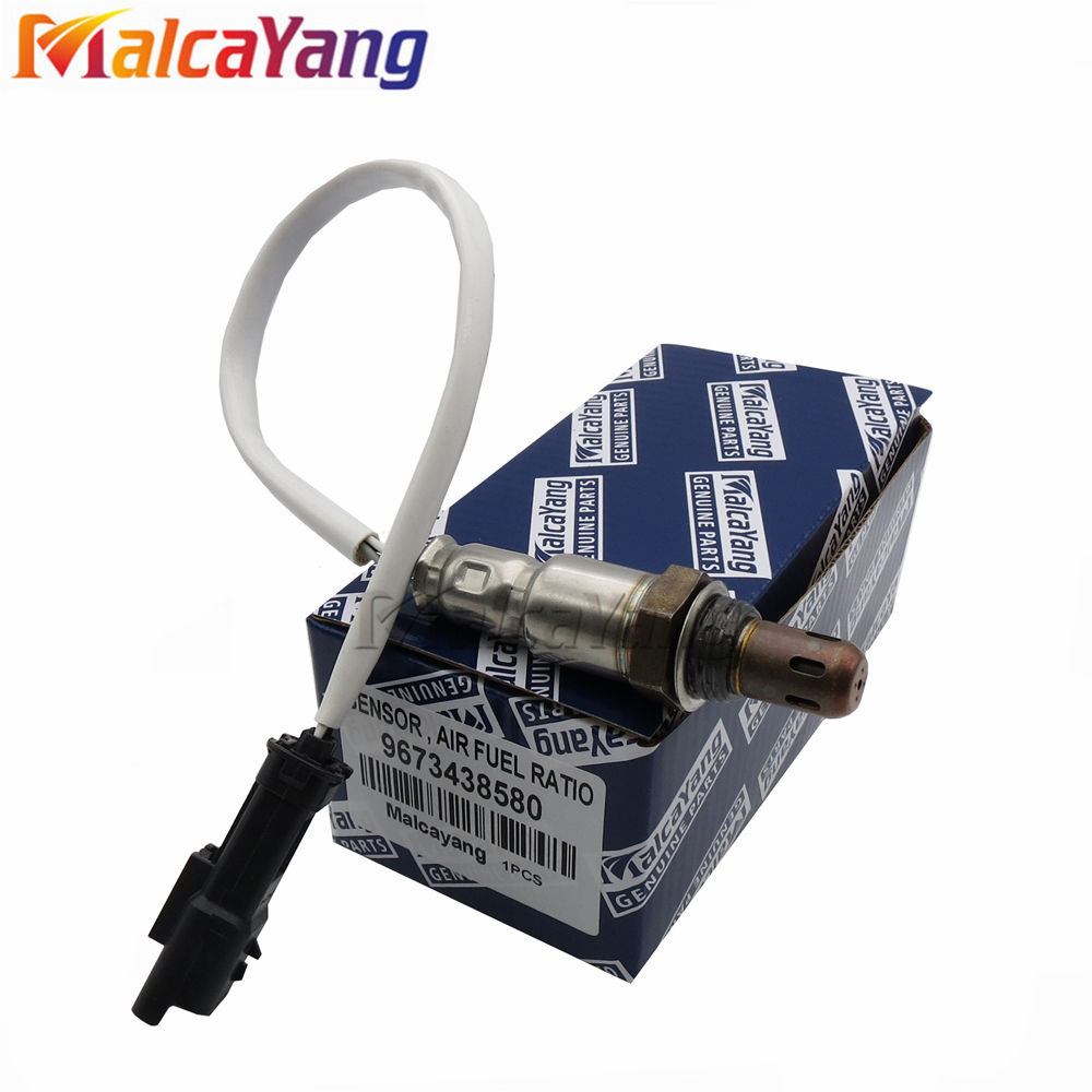 1PCS 9673438580 Pre Post CAT Lambda Probe Oxygen / O2 Sensor For Peugeot 208 301 Citroen C Elysee 1.2L