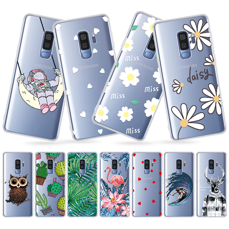 <font><b>Cartoon</b></font> Cat Leaves <font><b>Case</b></font> For Samsung Galaxy A30 A40 A40S <font><b>A50</b></font> Silicone Soft Phone Bags Cover For Galaxy A10 A20 A20E A60 A70 image