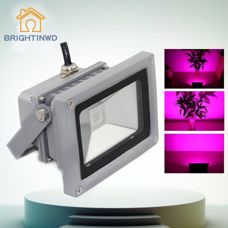 BRIGHTINWD Cross Border Led Plant Growth Lamp Greenhouse Plant Growth Light, Greenhouse, Purple, Red and Blue Floodlights 30w50w