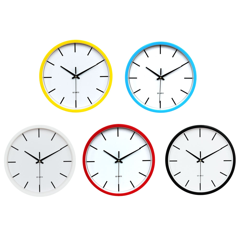 Large Outdoor Garden Wall Clock Big 12h Display Hanging Clock Quartz For Home Living Room Shop Cafe 25cm In Wall Clocks From Home Garden On Aliexpress