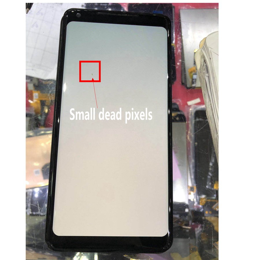 Display For Google Pixel 2 XL LCD Screen Replacement parts 6.0 For Google Pixel 2XL Touch Screen Parts with Small Dead Pixels