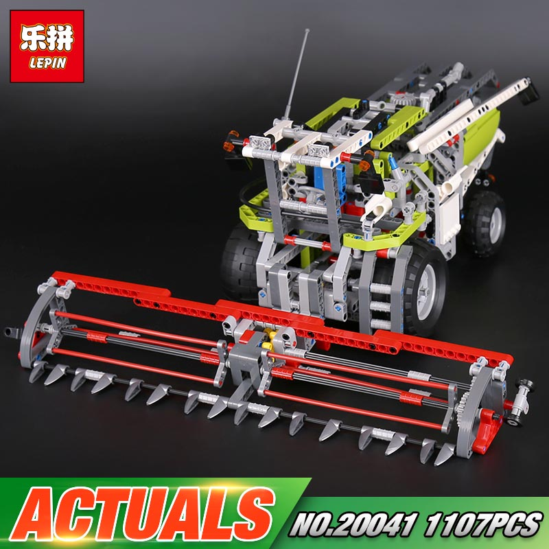 Lepin 20041 1107Pcs Genuine Technic Series The Combine Harvester Set 8274 Educational Building Blocks Bricks Toys Model Gift lepin 02020 965pcs city series the new police station set children educational building blocks bricks toys model for gift 60141