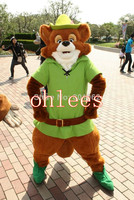 Ohlees robin hood Mascot Costume Halloween Christmas party Props Costumes For Adult cartoon animal customize