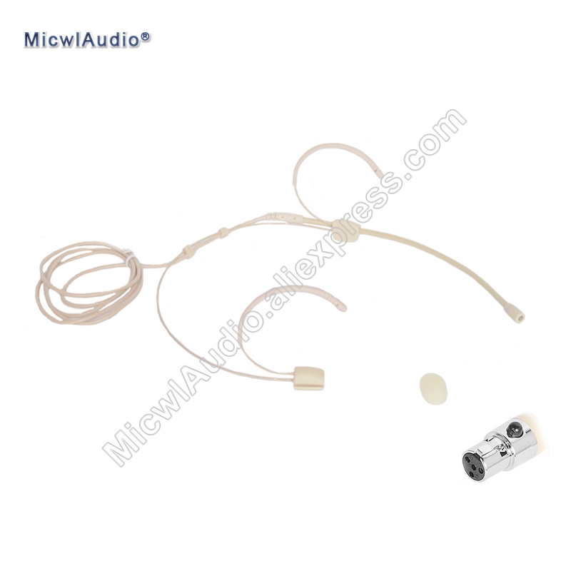 Omidirectional Microdot Headset Ta4f Microphone For SHURE