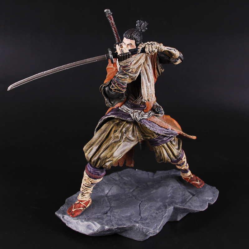 PS4 Game SEKIRO Shadows Die Twice 20CM PVC Action Figures Model Toys for Kids Children Christmas Gifts image