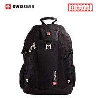 Swisswin 14 Laptop Backpack Men Brand Feminine Backpack Japan Shoulder School Bags For Teenage Girls And