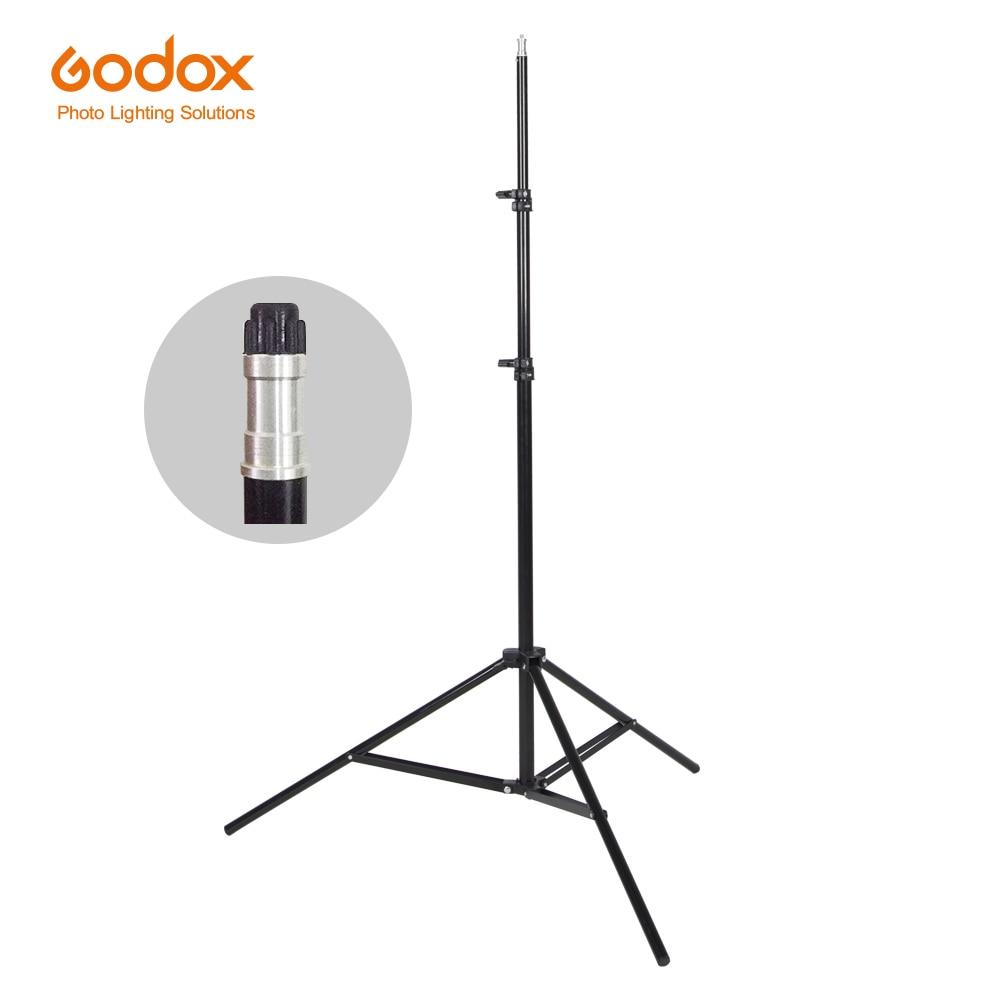 Godox Ajustable 302 2m Light Stand with 1/4 Screw Head Tripod for Studio Photo Vedio Flash Lighting 200cm