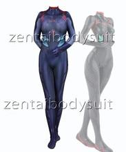 Rei Ayanami Neon Genesis Evangelion Superhero Lycra Zentai 3.0 Bodysuit Halloween Cosplay Party suit free delivery