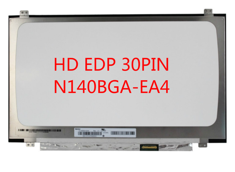N140BGA-EA4 Rev.C1 N140BGA EA4 LED Display LCD Screen Matrix for Laptop 14.0 30Pin HD 1366X768 Resolution Matte Replacement b140xtn02 9 b140xtn0 2 9 b140xtn029 matrix for laptop 14 0 led display 1366x768 hd edp 30pin glossy lcd screen