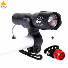 High Quality Bright Bike Light Headlight+Taillight Waterproof Cycling Accessories Safety Lights Bicycle Lamp Torch Flashlight