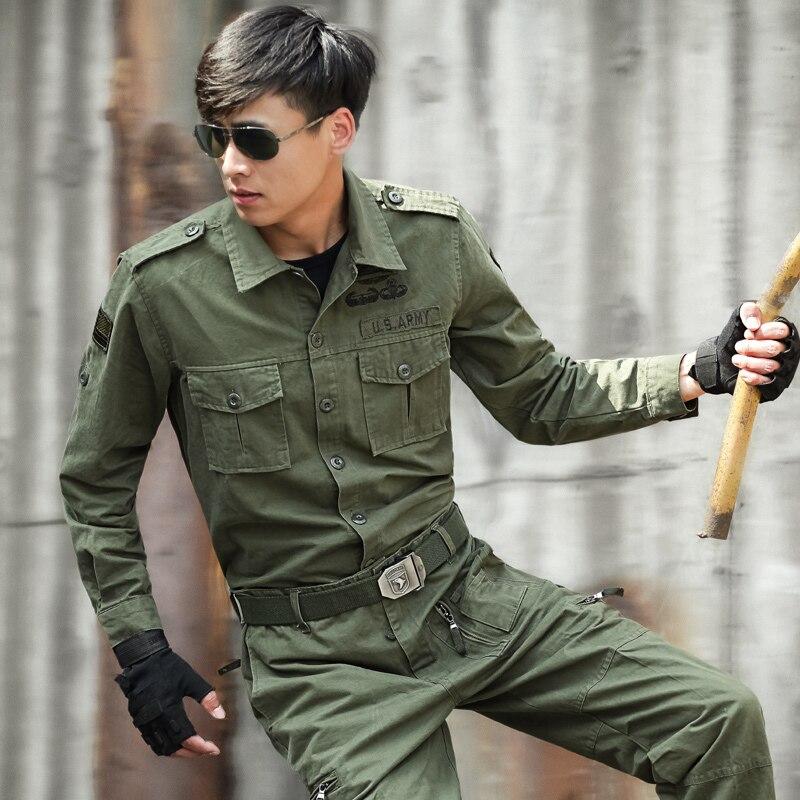 101 Hommes Costume Green Américaine Army Vêtements Tops Pantalon Aéroporté Tactique Camouflage Militaire Spéciales De L'armée Forces Combat Uniforme Ensembles rr5pq7xAw