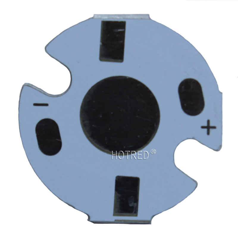 100pcs1W 3W 5W Heat Sink LED Aluminum Base Plate PCB Board Substrate 16mm DIY Cooling Heatsink 16 Mm For 1 3 5 W Watt