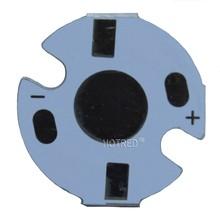 100pcs1W 3 W 5 W radiator LED aluminium płyta podstawowa płytka PCB podłoża 16mm DIY radiator chłodzenia 16mm dla 1 3 5 W wat