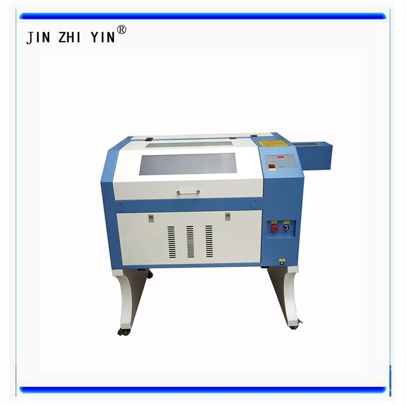 400*600mm 50W 60W 80W 100W CO2 Laser Engraving Cutting Machine Desktop 4060 USB Interface Acrylic Wooden Laser Cutting Machine