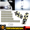 70pcs T10 12 smd 5630 5730 NO OBC ERROR Led Canbus Error Free Auto Clearance Lights W5W Car Wedge Tail Side Light Reading Lamp