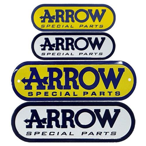 US $1 31 5% OFF|3D Aluminum Heat resistant Aluminium Motorcycle Exhaust  Pipes Decal Sticker For Scorpio Yoshimura Arrow Sticker-in Decals &  Stickers