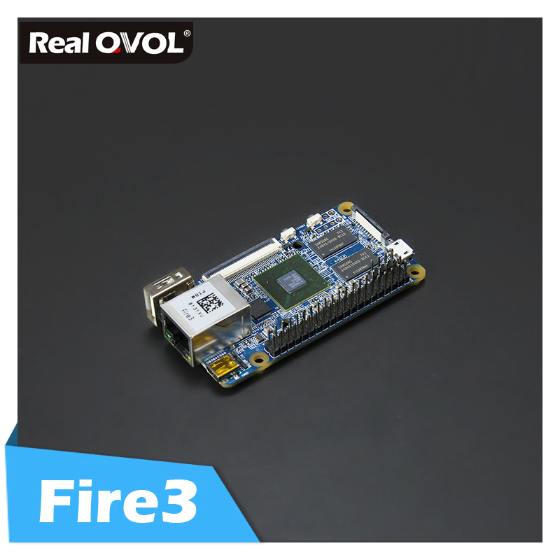 RealQvol NanoPi Fire3 Development Demo Board S5P6818 1.4GHz CPU 1GB DDR3 GPIO Port Support Android Debian FriendlyCore