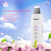 Portable Anion Ultrasonic Vibration Face Cleansing Machine Beauty Clea