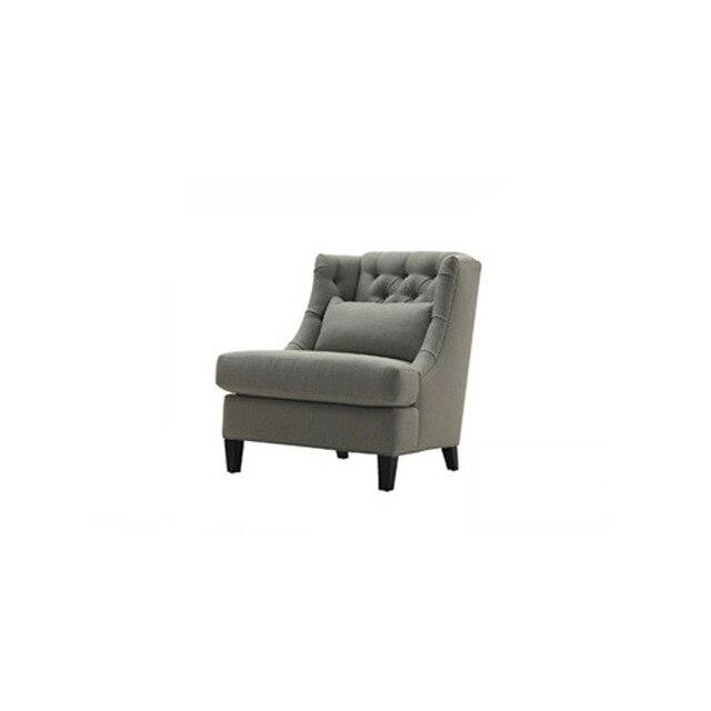 Pastorale stijl van stof sofa leisure stoelen, woonkamer meubels ...