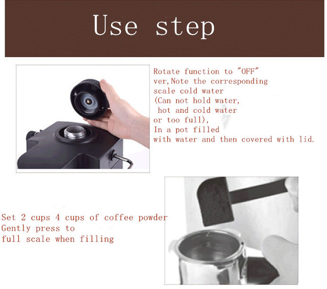 Automatic espresso Faema Black coffee machine portable drip coffee maker cappuccino with milk steaming high quality