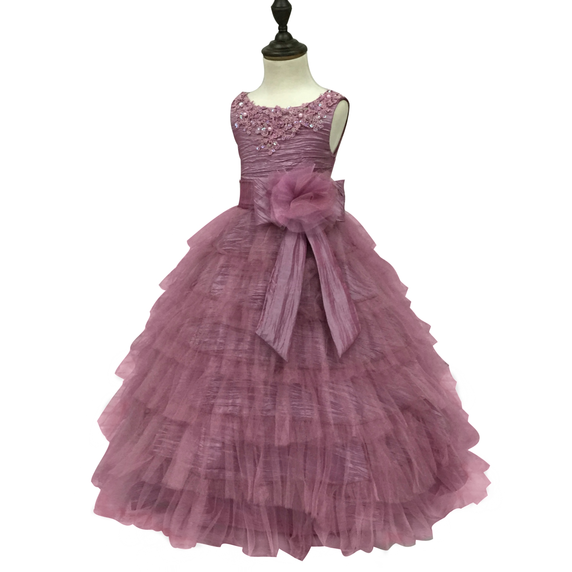 Free Shipping Formal 4 12 Years Kids Evening Gowns Child Party Dress ...