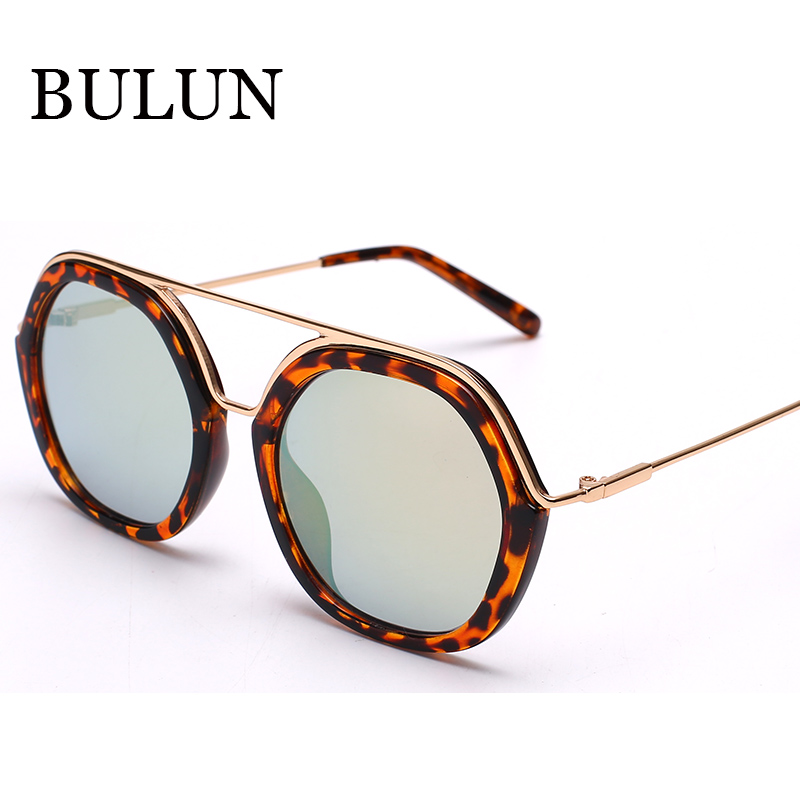 815a798e988ba Bulun 2015 Metal Oval óculos De Sol mulheres marca Designer De moda  Coatting espelhado Sun vidro para as mulheres óculos De Sol Feminino Gafas