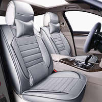 Fundas de asiento de coche universal de cuero de alta calidad para Nissan Qashqai Note Murano March Teana Tiida Almera x-trai auto accesorios