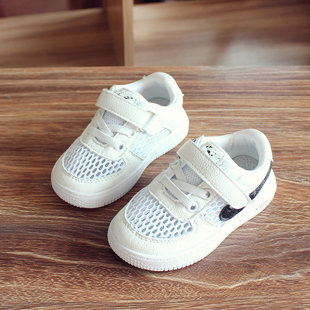 Baby shoes girls Leisure Fashion Running Shoes Soft Bottom Breathable Mesh 2017 Spring Summer Children Shoes kids Shoes girls