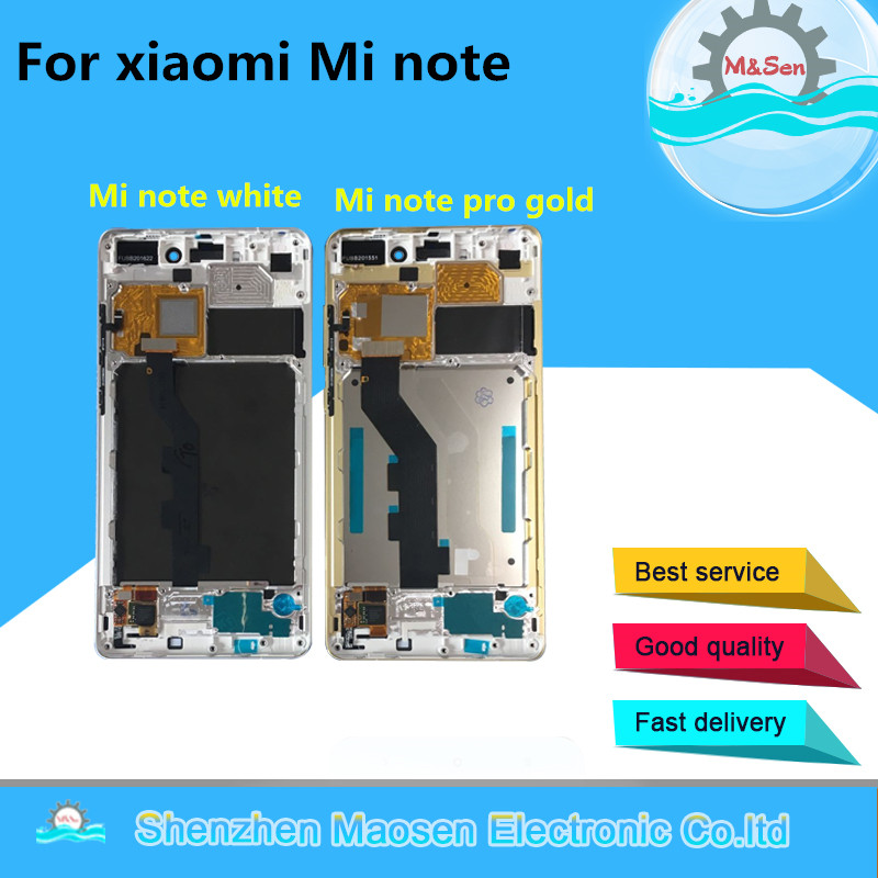 """M&Sen For 5.7"""" Xiaomi mi note or mi note pro LCD screen display+touch panel digitizer with frame free shipping"""