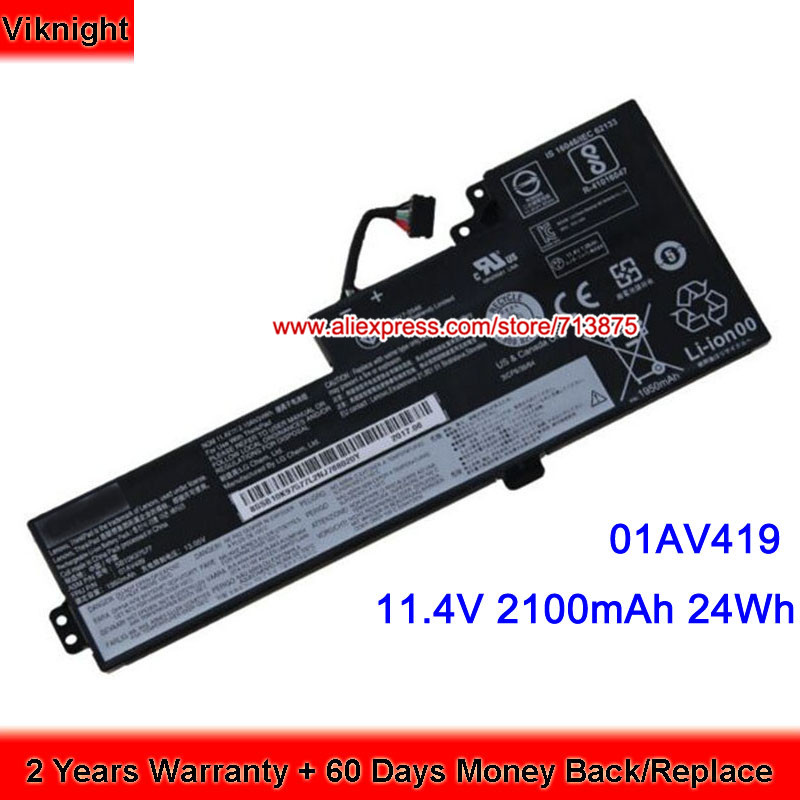 Genuine 01AV419 01AV420 Battery For Lenovo ThinkPad T470(20HD002TCD), T470(20HDA003CD),T470(20HDA004CD) купить недорого в Москве