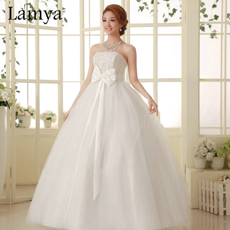 Aliexpress Buy Fashionable Discount Rose Flower Ball Gown Wedding Dresses 2016 Luxury Designer Bridal New Dress For Women D 046 From