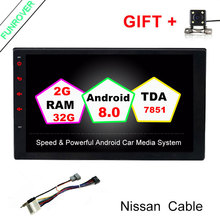 Funrover 2G 32G 7 2 din Android 8 0 Car DVD Radio Multimedia Player 1024 600