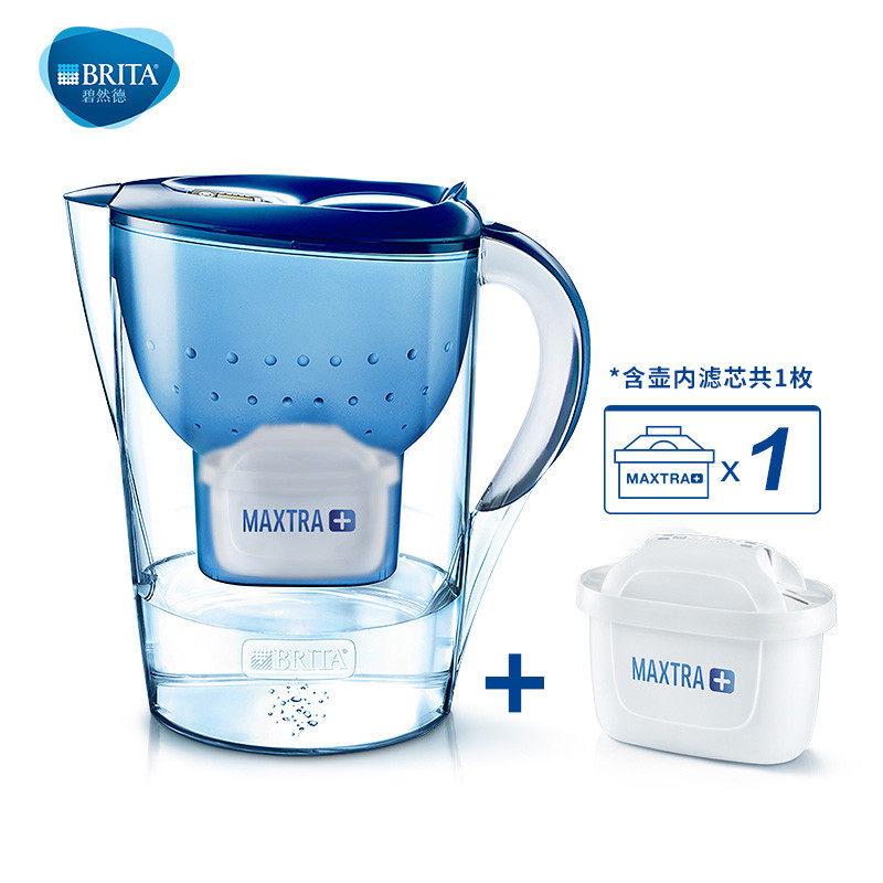Germany  Kettle Filter Cup Net 3.5L Filter Water Purification Blue pot 1PCS plus 3 filterGermany  Kettle Filter Cup Net 3.5L Filter Water Purification Blue pot 1PCS plus 3 filter