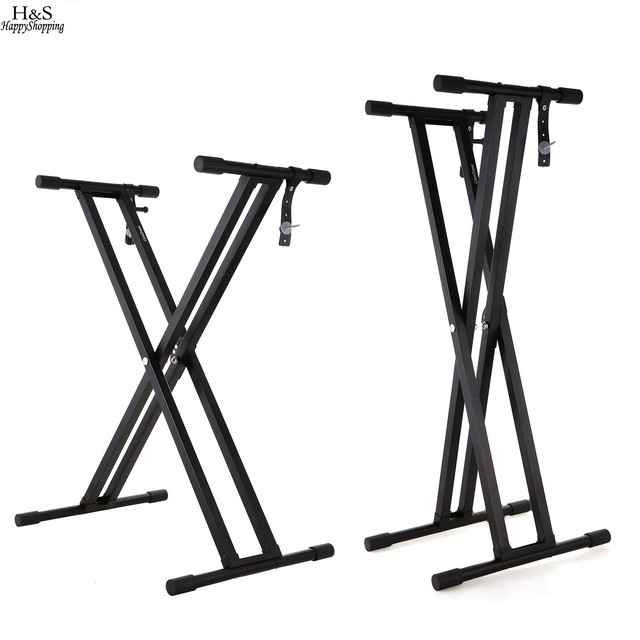 Musical Instruments Frame Double X Pre Assembled Adjustable Piano ...